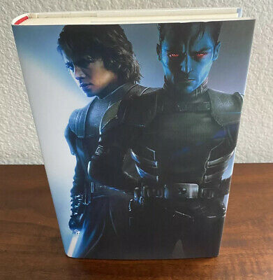 Star Wars Thrawn Alliances Timothy Zahn SDCC 2018 Hardcover Autographed Signed