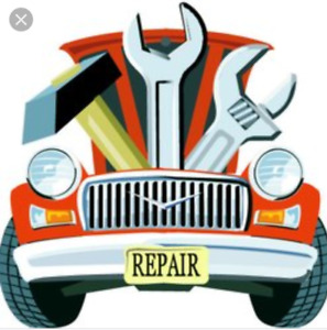 Vehicle repairs and upgrades.