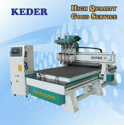 Cnc Router 48 1325 Four Spindles Woodwork Engrave Milling Furniture Machine
