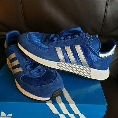 adidas originals marathon x 5923 size uk 9.5 og box blue