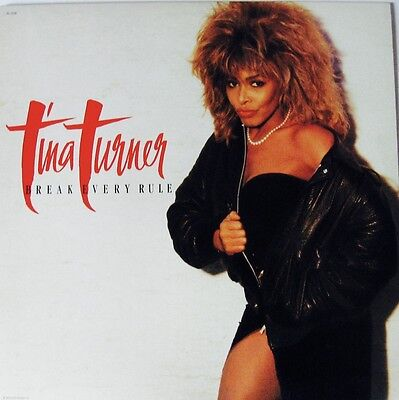 Tina Turner  Break Every Rule Private Dancer 2 Lp Capital Excellent