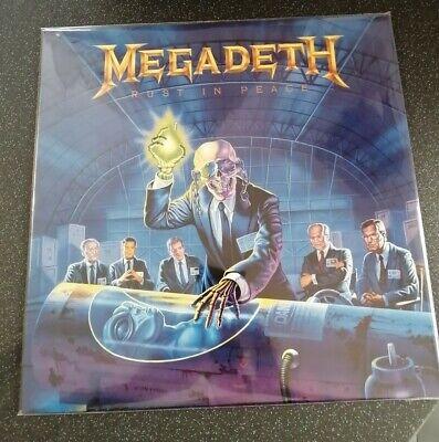 Megadeth RUST IN PEACE RE-PRESS VINYL LP CAPITOL COMBAT VERY RARE