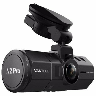 Vantrue N2 Pro Front & Back Wide Angle Dual Dash Cam Dashboard Camera ✔NEW✔