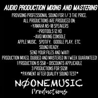 Music Audio Production Mixing And Mastering