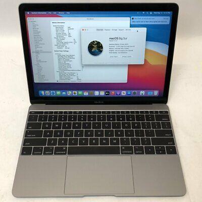 """Apple MacBook 2017 12"""" Dual Core i3 1.2GHz 8GB RAM 256GB A1534"""