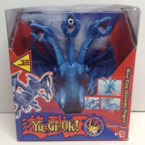 RARE Yu-Gi-Oh! Blue Eyes Ultimate Dragon Deluxe Monster Action Figure