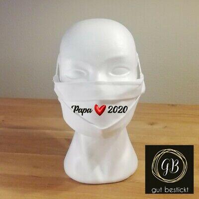 Mundschutz, Maske, Behelfsmaske, Papa 2020, Baby, Newborn, Neugebores, waschbar
