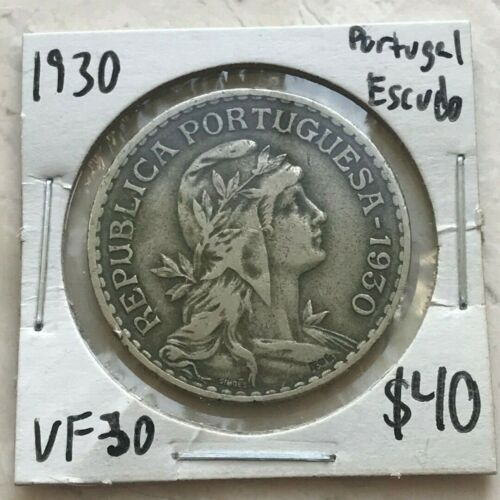 1930 Portugal Escudo - Scarce Date