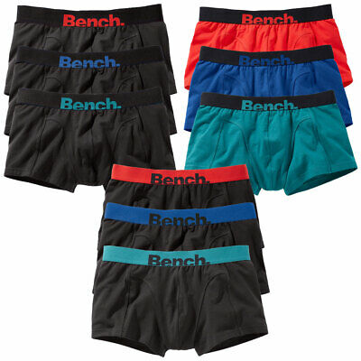 Bench 3er Pack Herren Hipster, Low rise trunk, Boxershorts, Pants, short Boxer