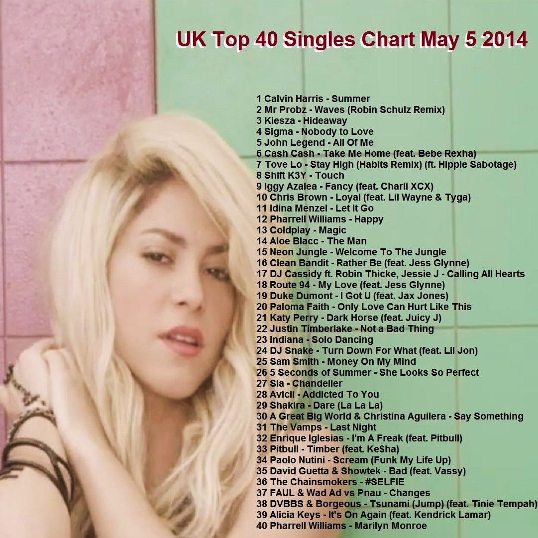 Details about Promo Video DVD, UK Top 40 Hit Videos May 2014, Dance/Pop,  FRESHEST Only on Ebay