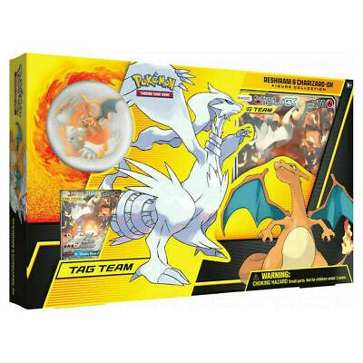 Pokemon TCG Reshiram and Charizard GX Figure Collection Box - Sealed NEW English