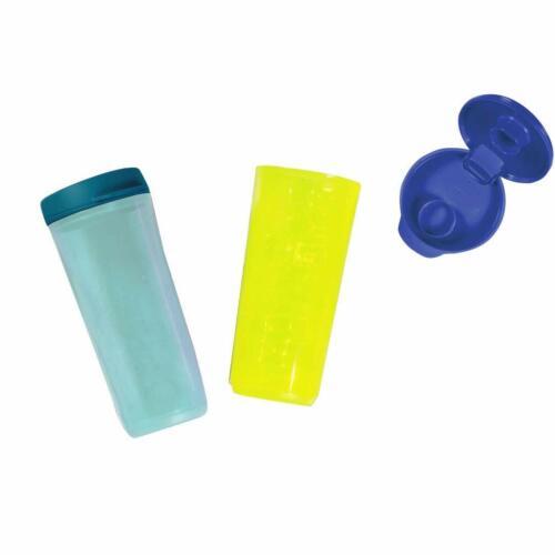 Tupperware Plastic Tumbler - 2 Pieces Multicolor 470 ml liquid-tight Spill-Proof