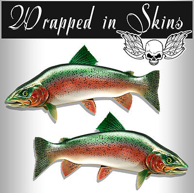 Trout Decals Fish Stickers Fishing Decals  Indoor / Outdoor  AFP-0096 - Fish Stickers