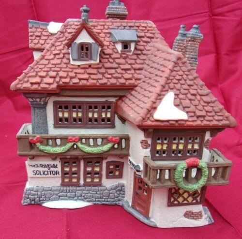 Dept 56 David Copperfield Mr Wickfield Solicitor 5550-6 Dickens Village 1989
