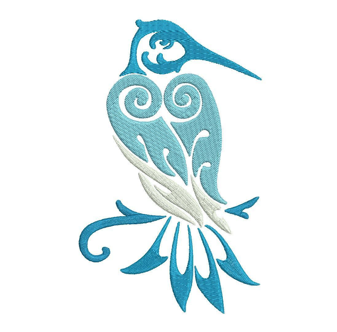 Beautiful birds machine embroidery designs sizes