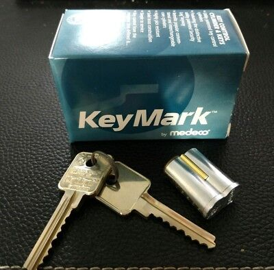 Keymark By Medeco Interchangable Core Ic With Two Keys Control Key
