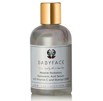 XL Babyface Hyaluronic Acid Serum Wrinkle Matrixyl Vitamin C Plumping (Serum Refill)