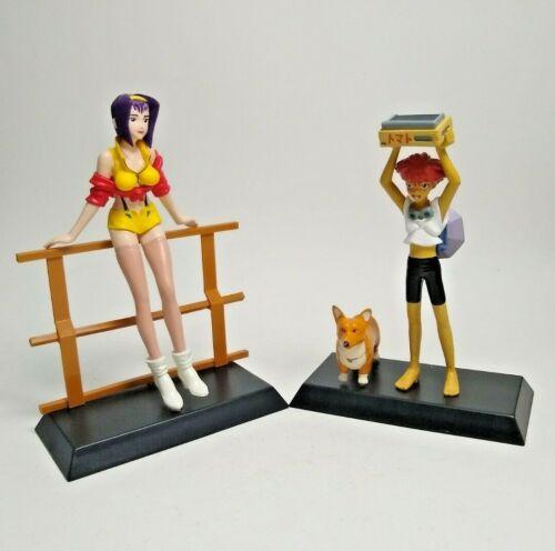 Cowboy Bebop Figure Faye, Ed & Sin Session Banpresto Japan Anime