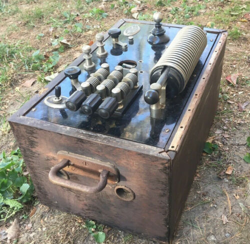 Antique Mcintosh Portable Diathermy Apparatus - Medical History, Quack etc
