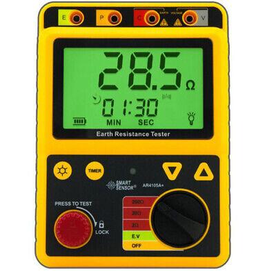 Smart Sensor Ar4105b Digital Earth Resistance Tester 202002000
