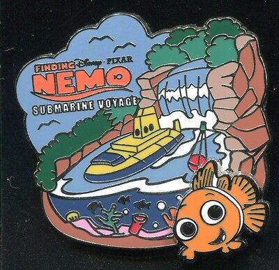 DLR Finding Nemo Submarine Voyage Logo Disney Pin 93232
