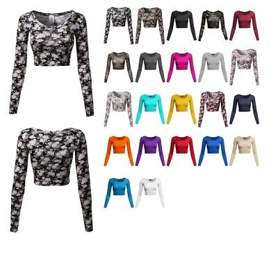 FashionOutfit Women's Floral Prints Lightweight Long Sleeve