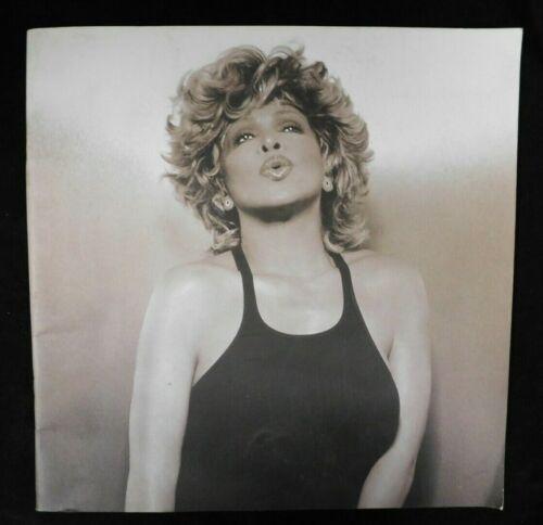 Tina Turner Original Rare Concert Tour Program