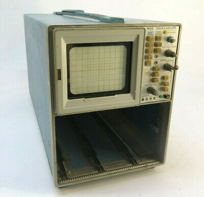 Tektronix 7633 Oscilloscope Mainframe - For Parts