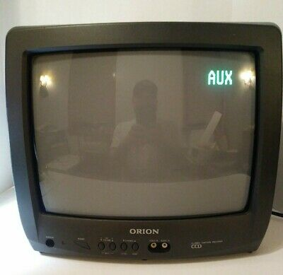 "ORION 13"" Retro CRT Gaming TV Console Television Monitor Model TV1334A VINTAGE"