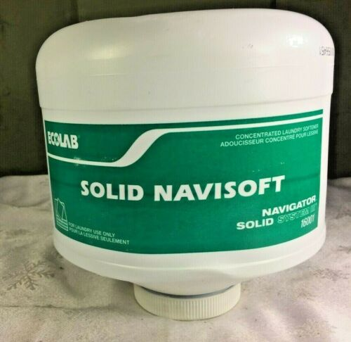 Ecolab 16001 Solid Navisoft Fabric Softener 6 Lb Container x1