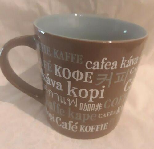 Starbucks 2008 Coffee Kava Cafea Kape Cup Mug