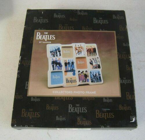 Vandor The Beatles Collectors Photo Frame Ceramic MIB