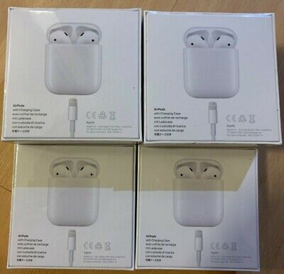 Genuine Apple AirPods (2nd Generation) with Charging Case - White (MV7N2ZM/A)