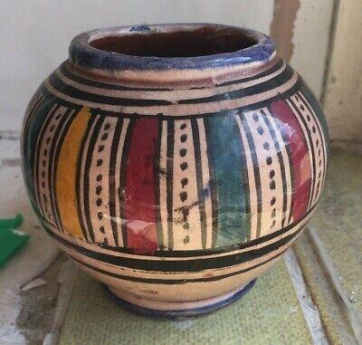 Safi Pottery Vase,(islamic, iznik, arabic, turkish?)