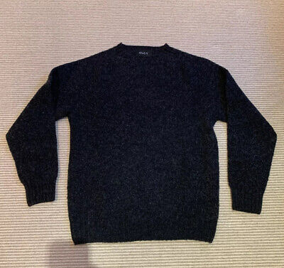 Howlin' 'Birth Of The Cool' Charcoal Wool Mens Sweater (Medium)