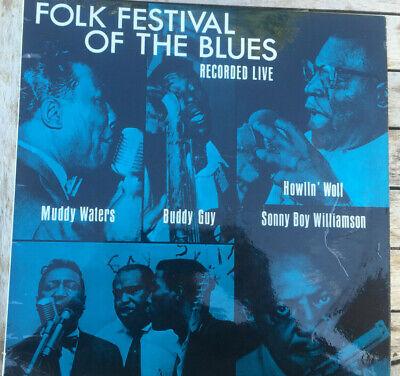 Howlin' Wolf, Muddy Waters etc, Folk Festival Of The Blues vinyl LP, 1964