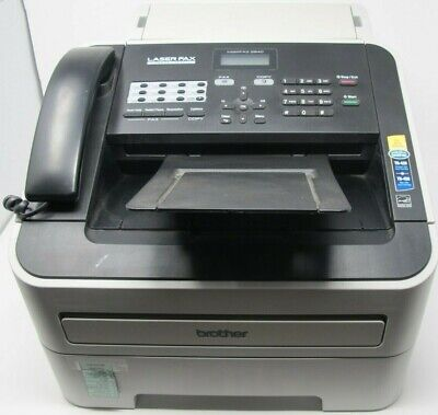 Preowned Brother Intellifax Fax2840 High-speed Laser Fax Print Copy Machine