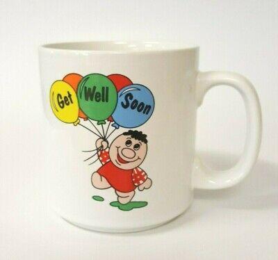 Get Well Soon Balloon Bouquet for Sick Hospital Patients Coffee Mug B88
