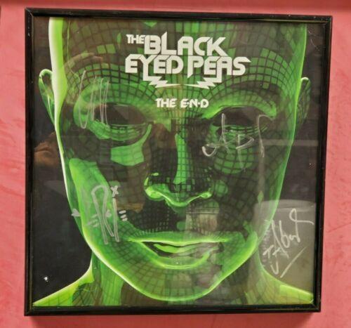 The Black Eyed Peas Signed Autographed Album Cover JSA/COA