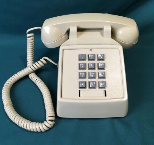 Vintage Premier HAC 2500 Beige Push Button Home Desk Phone 250044-MBA-20M-H