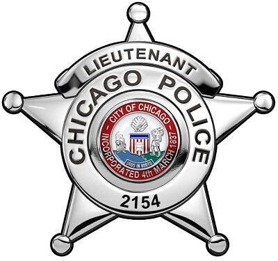 CHICAGO POLICE Chronology of Badges by Lucas
