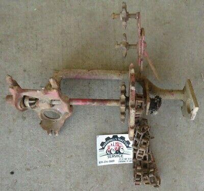 Ih Lh Side Dresser Fertilizer Hopper Bracket. Farmall Tractor C Super C 200 230