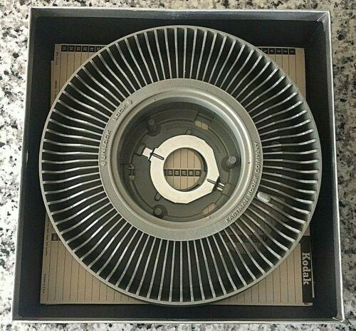 Kodak Carousel Transvue 140 Projector Slide Tray with box. Gray
