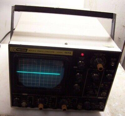Bk Precision 30 Mhz Oscilloscope Model 1474