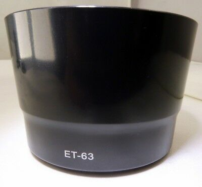 ET-63 Lens Hood Shade Replacement For Canon ET-63 EF-S 55-250mm f4-5.6 IS (Stm Replacement)