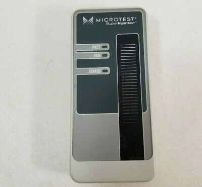 Fluke Pentascanner Microtest Super Injector Remote 2938-4001-01 Parts Or Repair