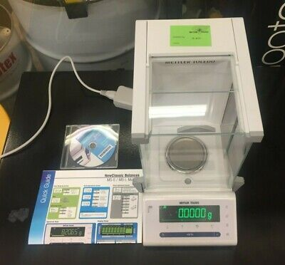 Mettler Toledo Ms204 Semi-micro Analytical Balance 220 G X 0.1 Mg Warranty