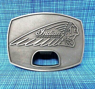 Vintage Indian Motorcycle Belt Buckle - Owners Buckle - Bottle Opener.....CPA171