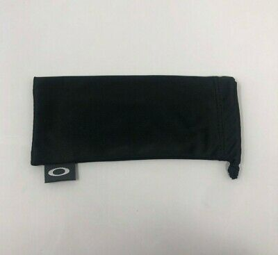 Oakley Microfiber Bag Black W/ Black Drawstring Sunglass Cleaning and (Oakley Sunglass Bag)