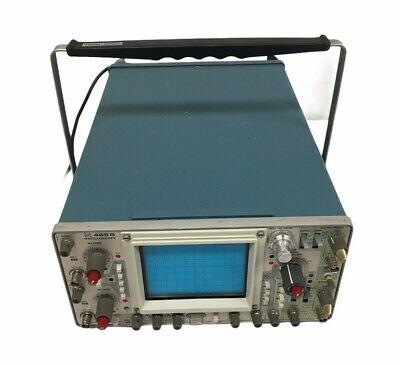 Tektronix 465b Oscilloscope Powers On No Manual For Parts 9045